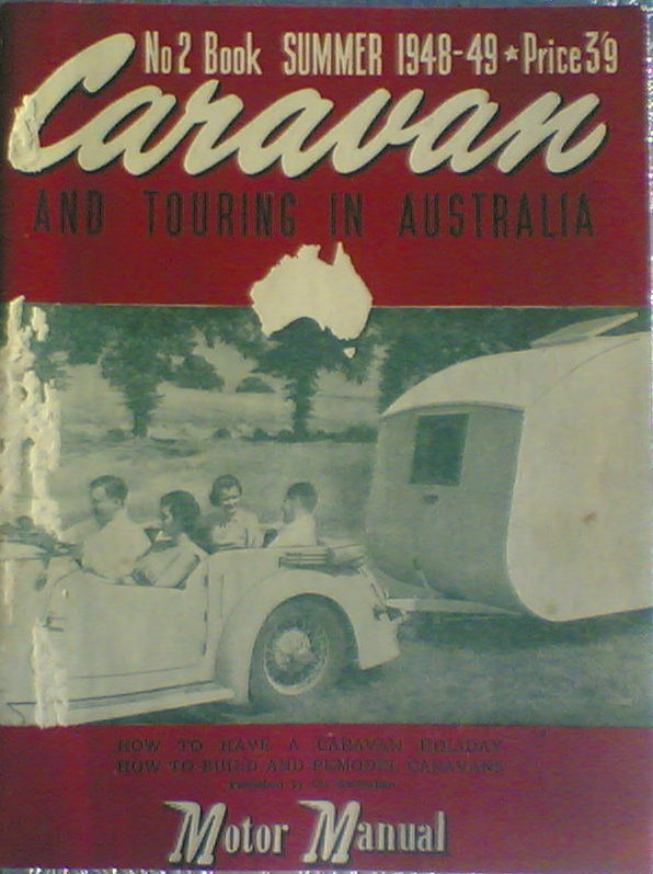 Book 2 Keith Winser's Caravans and Touring 1949