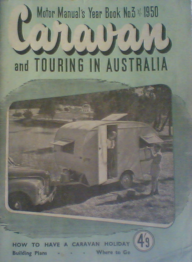 Book 3 Keith Winser's Caravans and Touring 1950