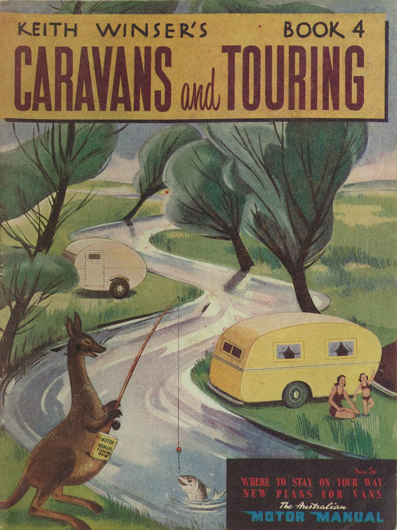 Book 4 Keith Winser's Caravans and Touring 1955